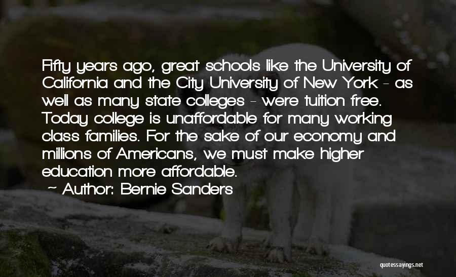 University Education Quotes By Bernie Sanders