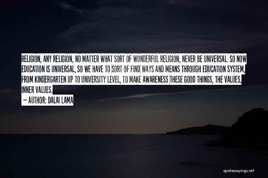 University Education Quotes By Dalai Lama