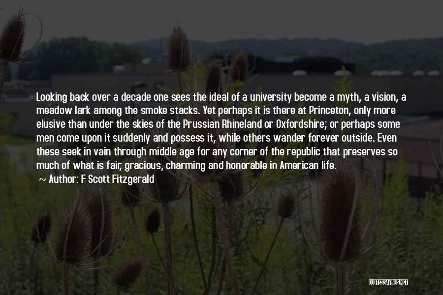 University Education Quotes By F Scott Fitzgerald