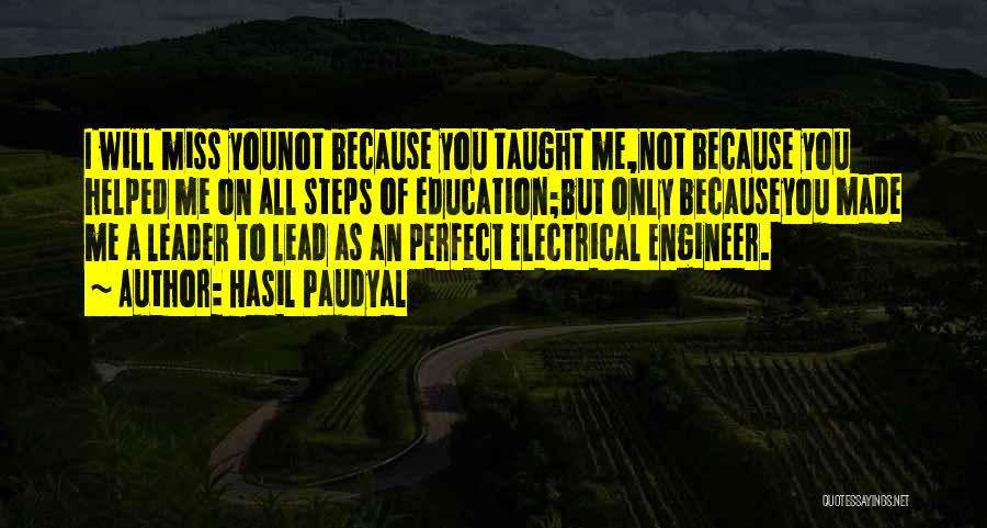 University Education Quotes By Hasil Paudyal
