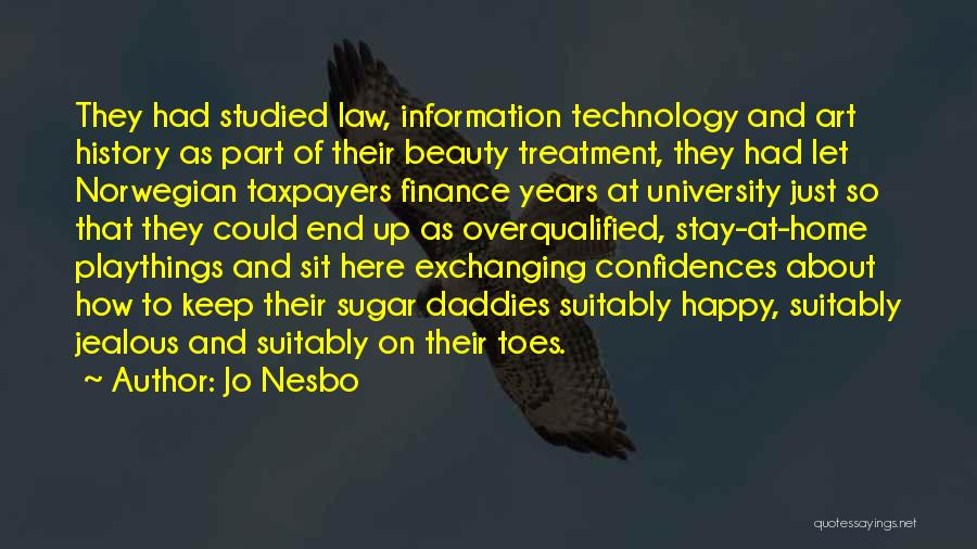 University Education Quotes By Jo Nesbo