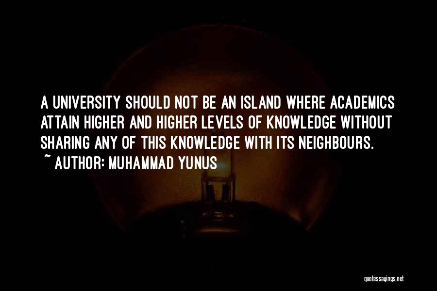 University Education Quotes By Muhammad Yunus