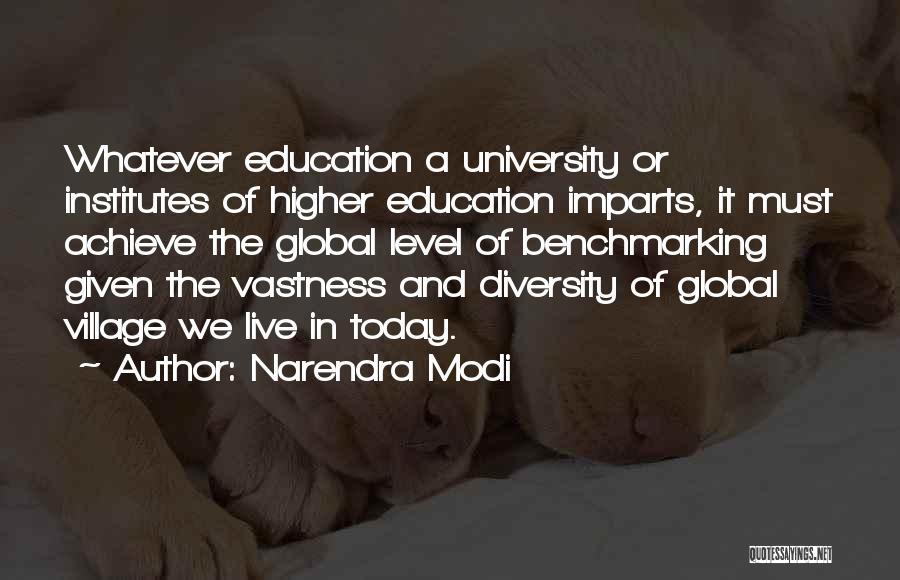 University Education Quotes By Narendra Modi