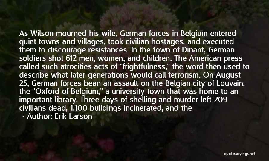 University Of Oxford Quotes By Erik Larson