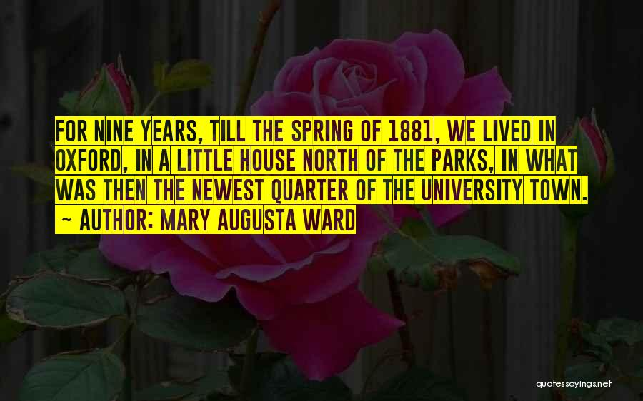 University Of Oxford Quotes By Mary Augusta Ward