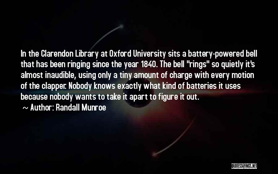 University Of Oxford Quotes By Randall Munroe