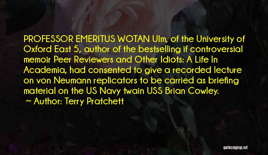 University Of Oxford Quotes By Terry Pratchett
