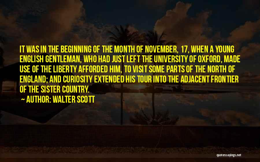 University Of Oxford Quotes By Walter Scott