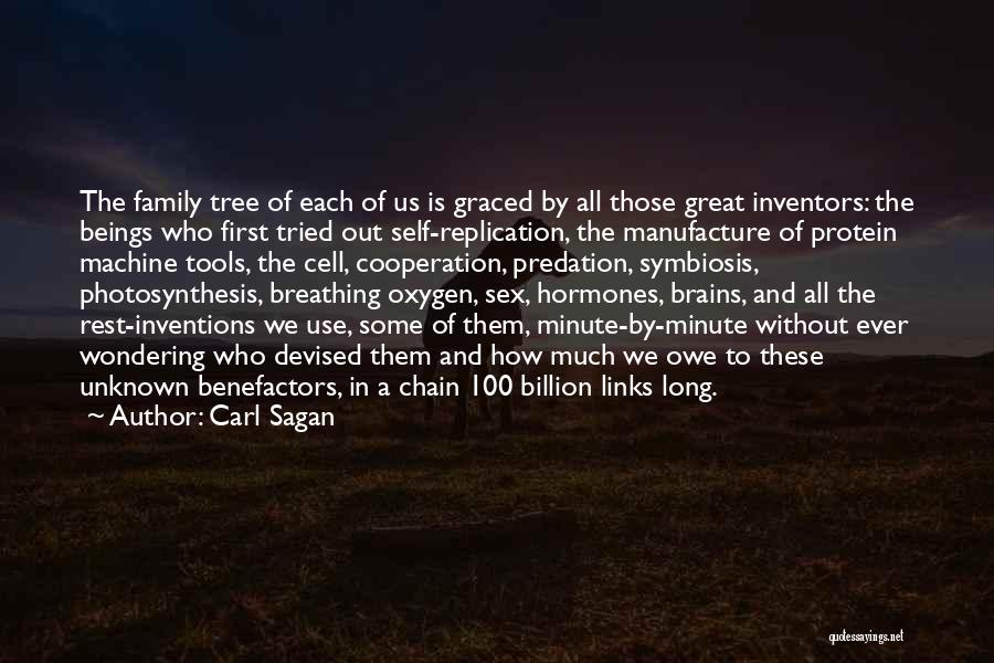 Unknown Family Quotes By Carl Sagan