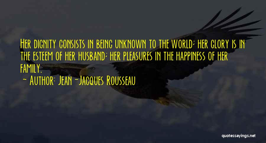 Unknown Family Quotes By Jean-Jacques Rousseau