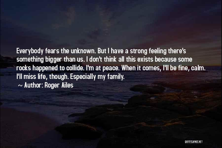 Unknown Family Quotes By Roger Ailes