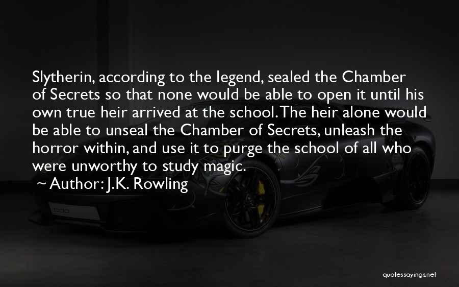 Unleash Yourself Quotes By J.K. Rowling