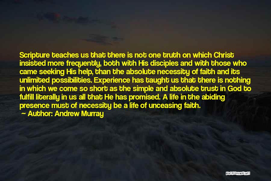 Unlimited Possibilities Quotes By Andrew Murray