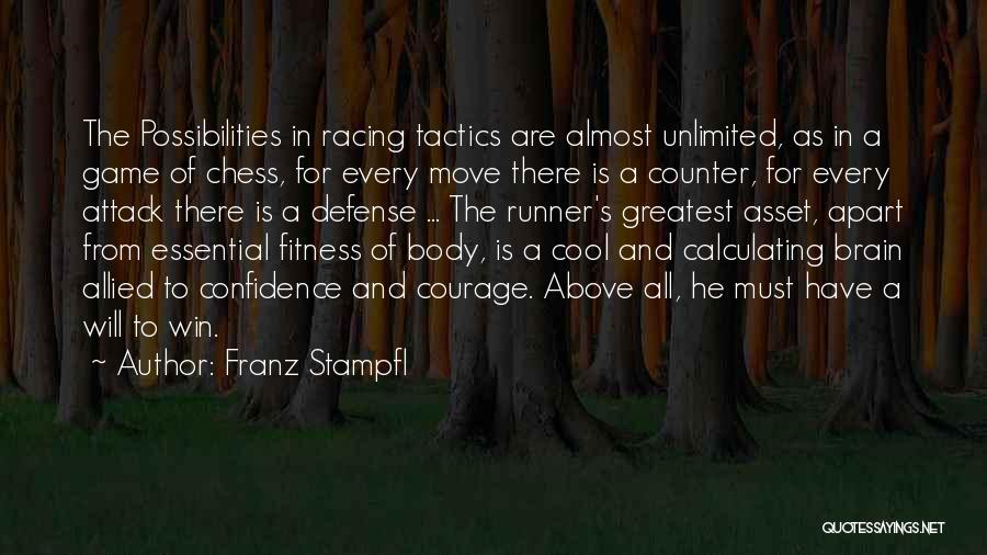 Unlimited Possibilities Quotes By Franz Stampfl