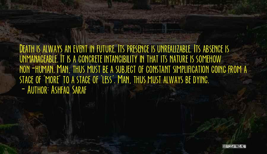 Unmanageable Quotes By Ashfaq Saraf