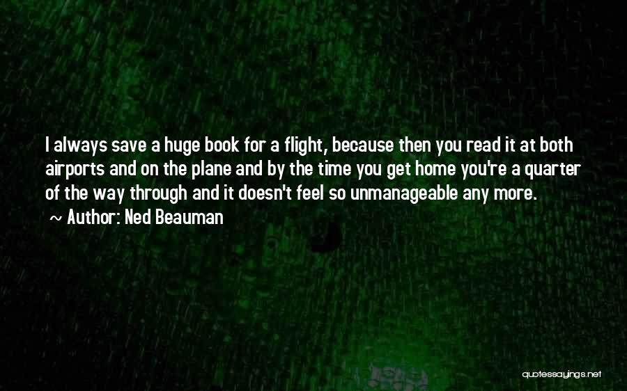 Unmanageable Quotes By Ned Beauman