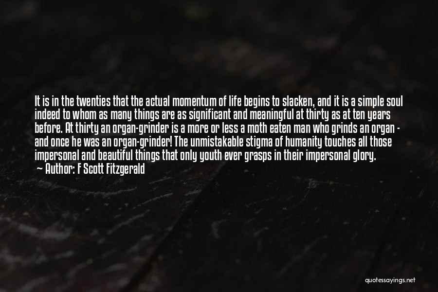 Unmistakable Quotes By F Scott Fitzgerald