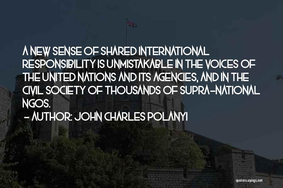 Unmistakable Quotes By John Charles Polanyi