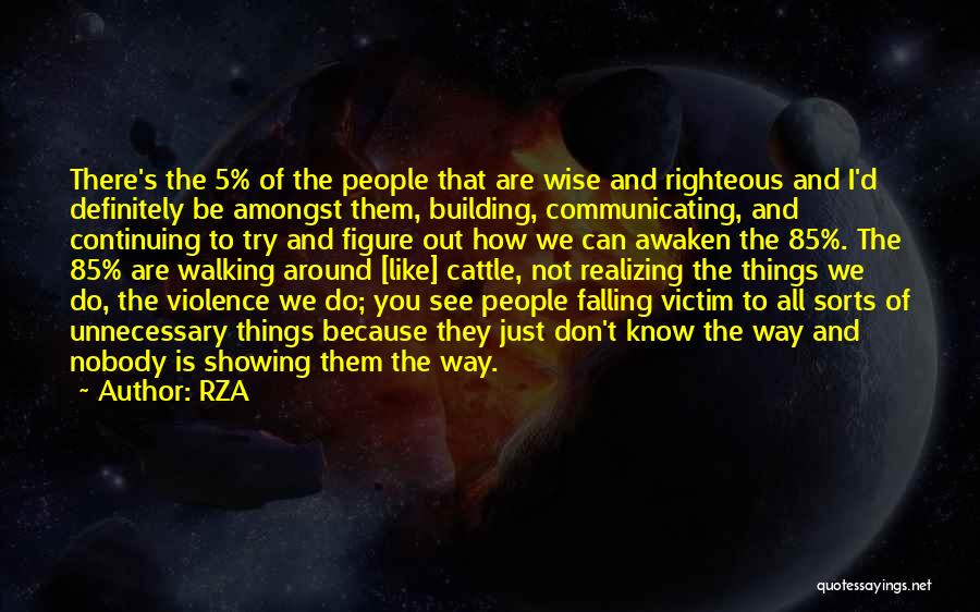 Unnecessary Violence Quotes By RZA