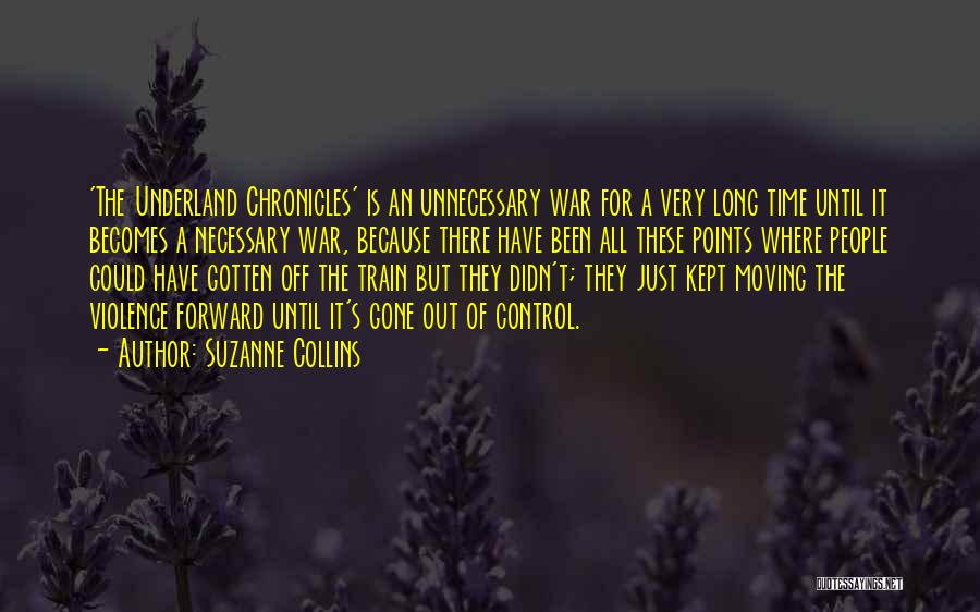 Unnecessary Violence Quotes By Suzanne Collins