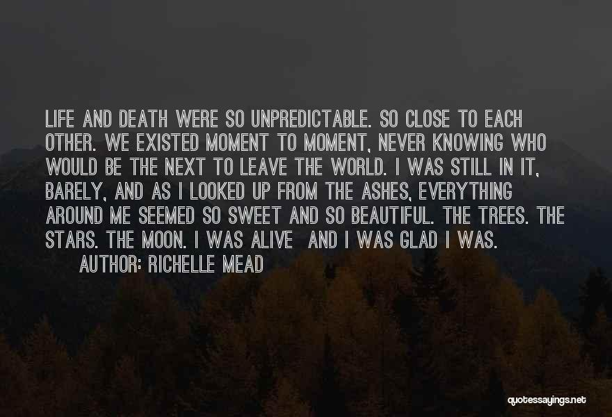 Unpredictable Life Quotes By Richelle Mead