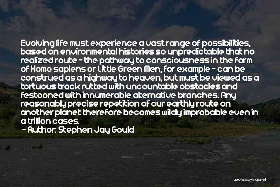 Unpredictable Life Quotes By Stephen Jay Gould