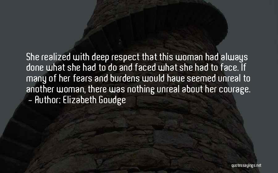 Unreal Quotes By Elizabeth Goudge