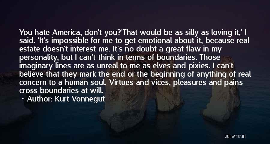 Unreal Quotes By Kurt Vonnegut