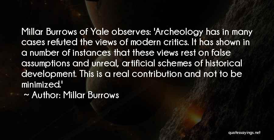 Unreal Quotes By Millar Burrows
