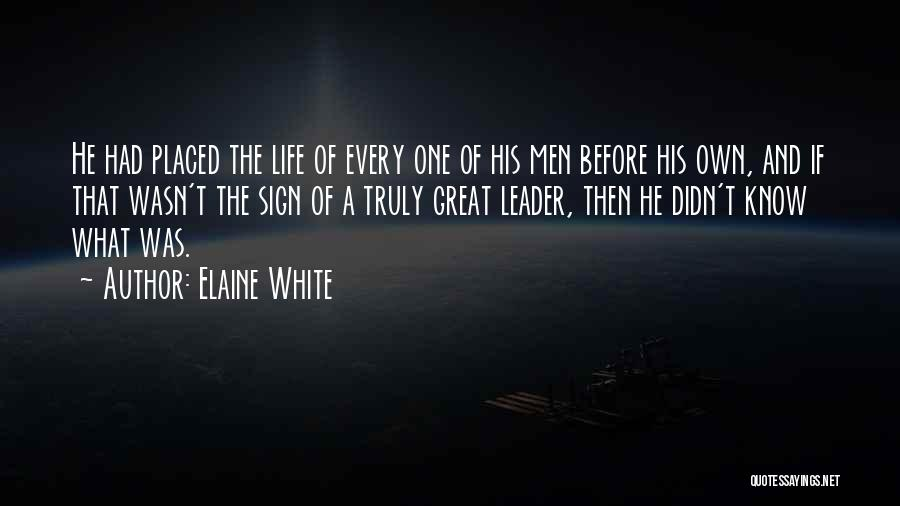 Unrequited Life Quotes By Elaine White