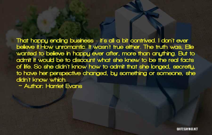 Unromantic Romantic Quotes By Harriet Evans
