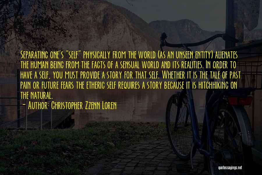 Unseen Pain Quotes By Christopher Zzenn Loren