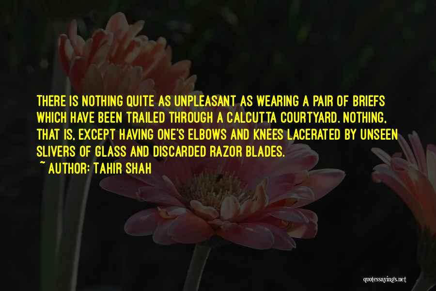 Unseen Pain Quotes By Tahir Shah