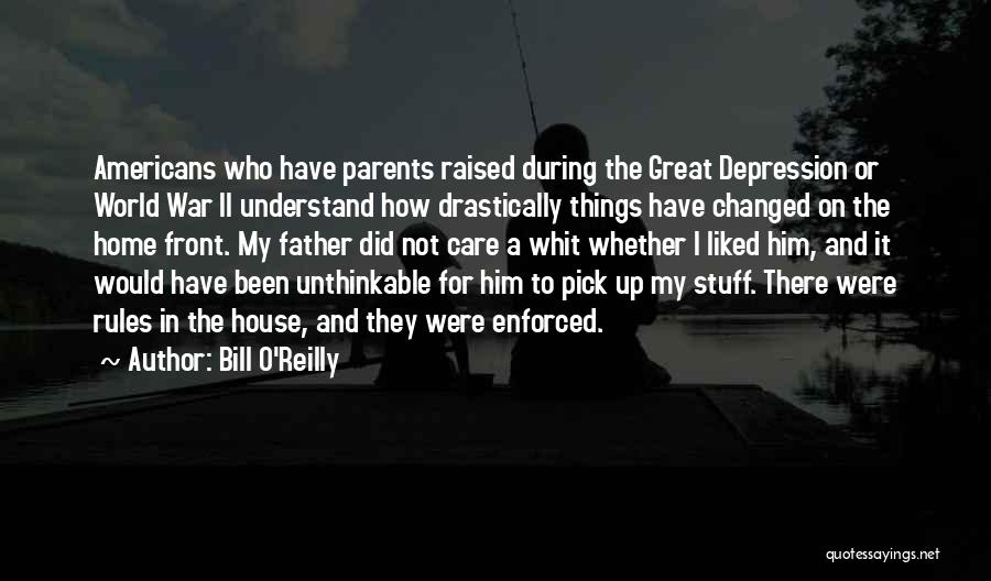 Unthinkable Quotes By Bill O'Reilly
