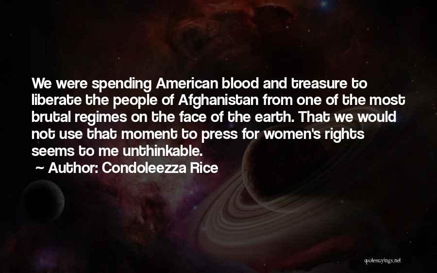 Unthinkable Quotes By Condoleezza Rice