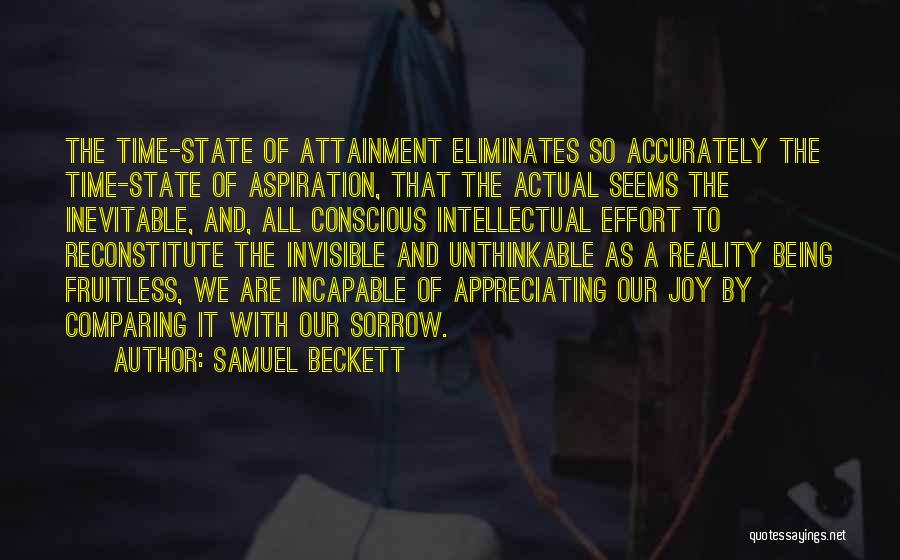 Unthinkable Quotes By Samuel Beckett