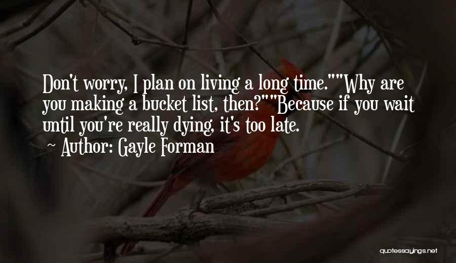 Until Then Quotes By Gayle Forman