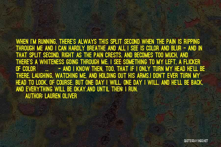 Until Then Quotes By Lauren Oliver