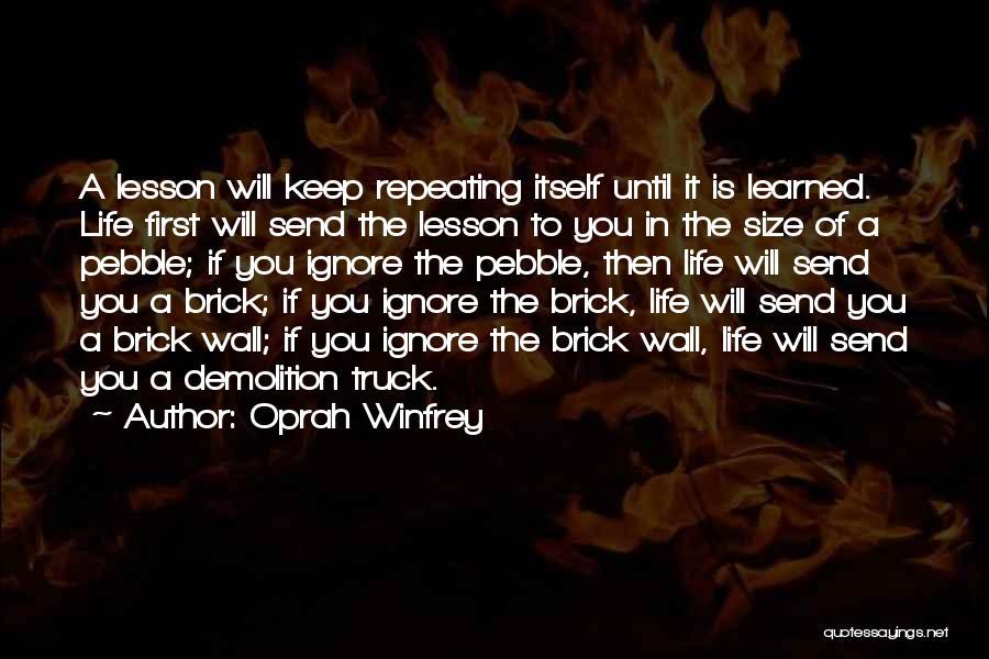 Until Then Quotes By Oprah Winfrey