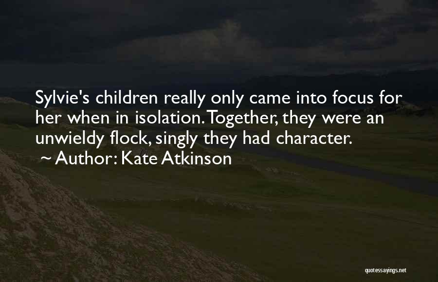 Unwieldy Quotes By Kate Atkinson