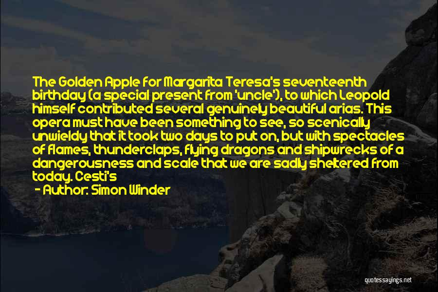 Unwieldy Quotes By Simon Winder