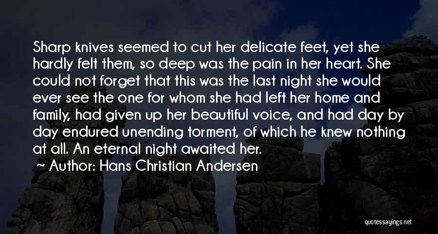 Up All Night Quotes By Hans Christian Andersen