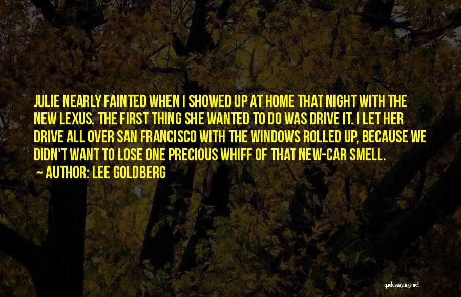 Up All Night Quotes By Lee Goldberg