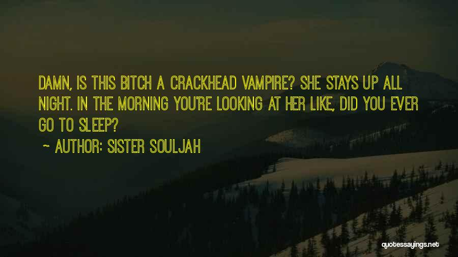 Up All Night Quotes By Sister Souljah
