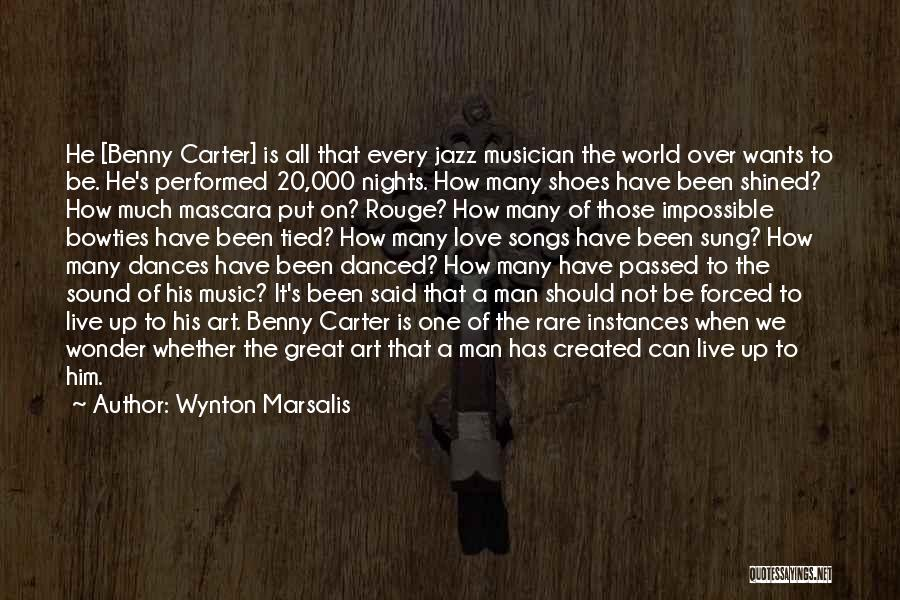 Up All Night Quotes By Wynton Marsalis