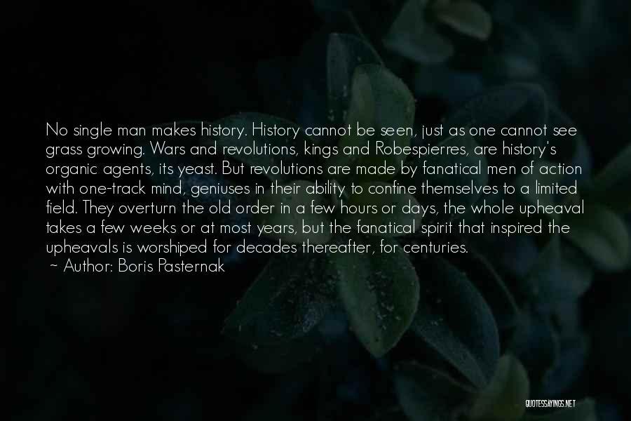 Upheaval Quotes By Boris Pasternak