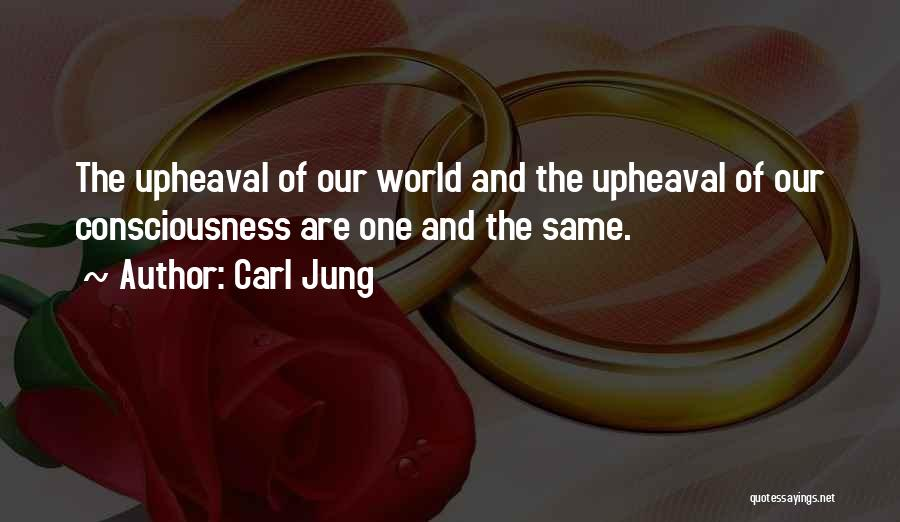 Upheaval Quotes By Carl Jung