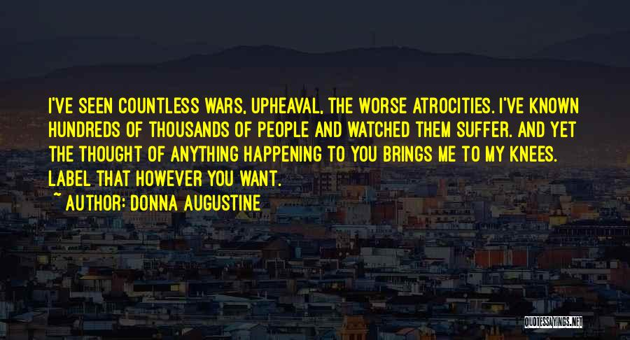Upheaval Quotes By Donna Augustine