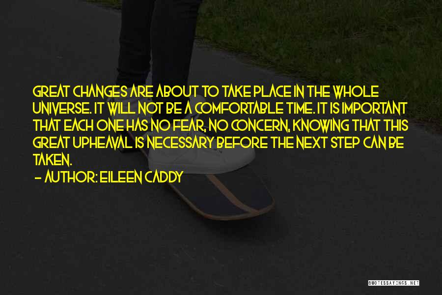 Upheaval Quotes By Eileen Caddy