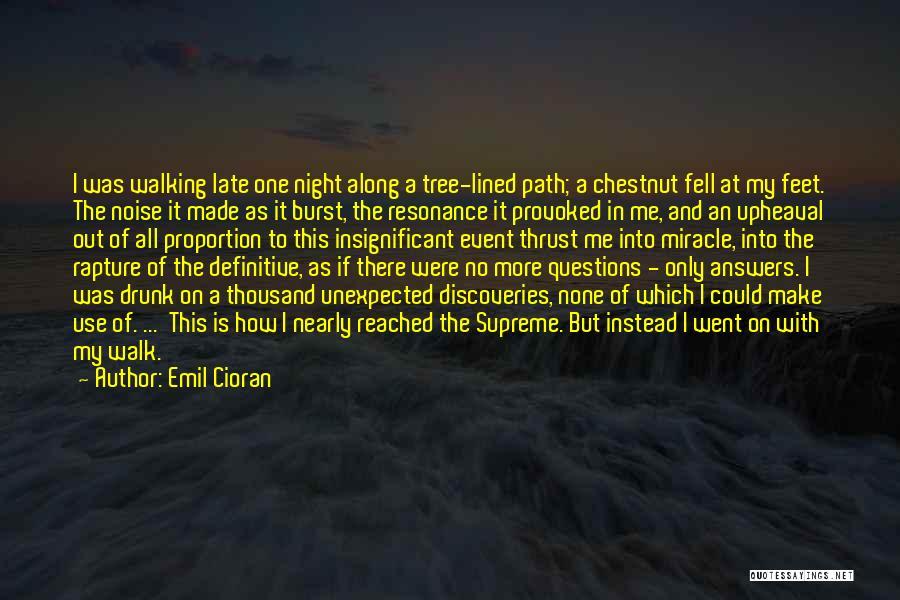 Upheaval Quotes By Emil Cioran